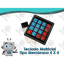 Teclado Matricial Keypad 3x4 Robotica Arduino Pic Avr Dsp