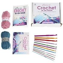 Los Industriosa Abeja Ganchillo Kit 12 Ganchos Con E-book Y
