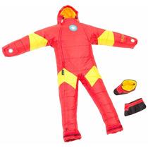 Selk Bag Sleeping Traje De Dormir Acampar Iron Man Talla Xl