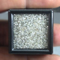 Diamante 10 Pcs 100% Naturales 1 Punto Vs1 H Redondo .01 Cts