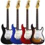 Paquete Guitarra American Eagle Amplificador Cuerdas Funda