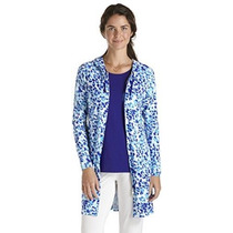 Coolibar Upf 50+ Mujeres Resort Cover Up - Protegerse Del So