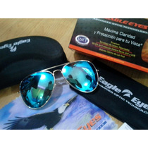 Eagle Eyes Aviator Celebrity Blue (certificado Autenticidad)