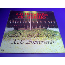Disco Lp La Rondalla De Saltillo 20 Aniversario