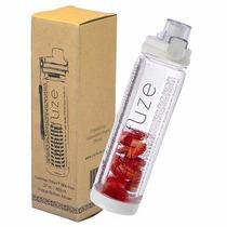 Botella De Agua Con Infusor De Fruta 750 Ml. Zenfuze