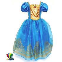 Disfraz Vestido Merida Valiente Original Disney Store Deluxe