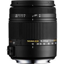 Sigma Lente 18-250mm F/3.5-6.3 Dc Macro Os Hsm Para Nikon
