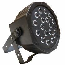 Luz De 18 Leds Cañon Audioritmico Dmx Entrada Xlr Rgb