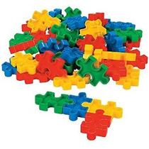 En Forma De Rompecabezas-block Set (50 Pc) 2 1/4 X 1 3/8 .