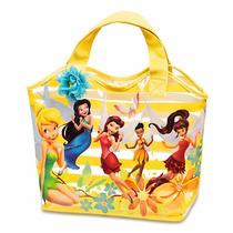 Thinkerbell Y Las Hadas Bolsa De Playa Niña Disneystore 2015