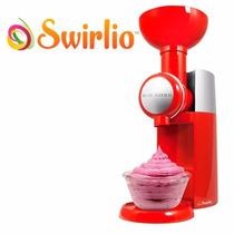 Swirlio Maquina De Helados Naturales Yogurth Congelado