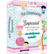 Kit Imprimible Diamante Empresarial Invitación 100 Kits 2016