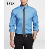 S, M, L - Camisa Express Azul Ropa De Hombre 100% Original