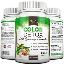 Colon Detox - 60 Tabletas De Total Cleansing Detox Y Pérdida