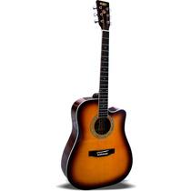 Guitarra Texana Acústica S101 Tb Con Funda Reforzada