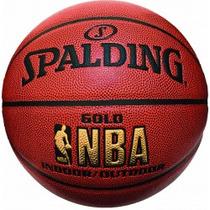 Balon De Basquetbol Spalding Gold Nba Indoor/outdoor #7