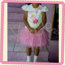 Vestido Peppa Pig, Pony, Elsa Frozen, Minnie, Princesas