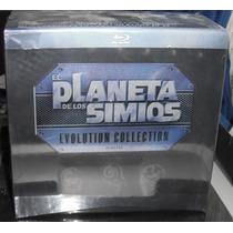 El Planeta De Los Simios, Evolution Collection (blu-ray)