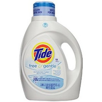 Tide Free & Gentle He Detergente Líquido - 100 Oz