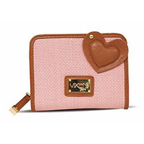 Cartera Vixen 1657 Colec Tahira Rosa Cafe Handbags 20% Descu