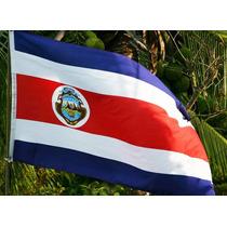 Bandera Costa Rica 150x90cm. Banderas Del Mundo Y Temáticas