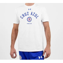 Playera Cruz Azul Graphic Color Blanco Under Armour 2014-15