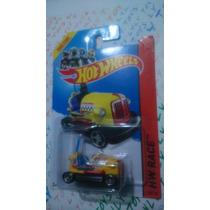 Hot Wheels First Edition Bump Around Amarillo Carrito Chocon