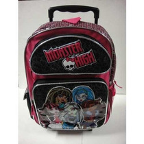 Mochila Monster High Con Ruedas M R