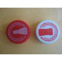 2 Tapa Roscas Promocion Coca Cola De Coleccion