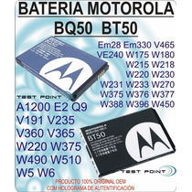 Bateria Motororla Bq50 Bt50