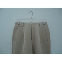 Pantalón Lino Liz Claiborne Primaveral T- 8