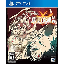 Guilty Gear Xrd Revelator - Ps4 [físico] Fgk