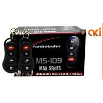 Auto Alarma Audiobahn Ms109 + Relevador Automotriz 40a / 12v