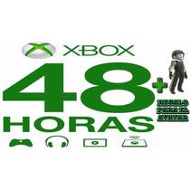 48 Horas De Xbox Live Gold Para Xbox 360 & Xbox One + Regalo