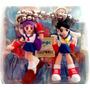 Set De Straps Sakura Y Atena De Snk Vs Capcom Y2493 3