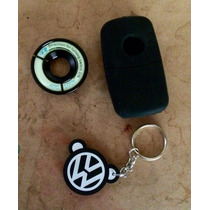 Paquete Vw Llavero+funda+embellecedor Switch Toda Linea Vw