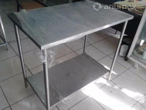 Mesa de trabajo en acero inoxidable 2200 bsqng precio for Mesa de trabajo precio