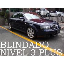 Audi S4 2005 Blindado Nivel 3 Plus V8 Quattro Remato!!