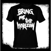 Bring Me The Horizon - Logo Camiseta Bmth Hardcore Metal