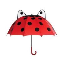Sombrilla Kidorable Mariquita Umbrella Rojo, Un Tamaño