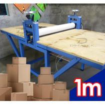 Suajadora Elextrica Para Fabricacion De Caja De Carton 12men