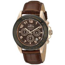 Reloj Para Caballero Invicta10712 Speedway Ion-plateado