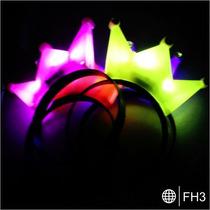 Diadema Fiestas Rey Luz Luminosa Disfraz Boda Xv Años Evento