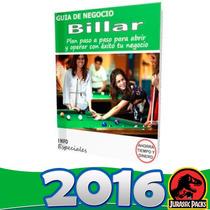 Poner Billar -salón De Billar Guía Para Iniciar Negocio 2016
