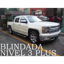 Pickup Cheyenne 2014 Ltz Blindada Nivel 3 Plus 4x4 Remato!!
