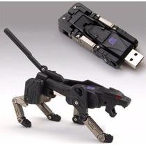 Memoria Usb 8gb Transformer Pantera Negra