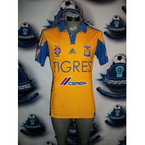 Jersey Oficial Original Tigres Local Adidas 2015-2016