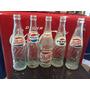 Lote De 5 Botellas Antiguas De Pepsi Cola De Coleccion
