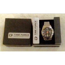 Reloj Time Force A La Moda Acero Inoxidable