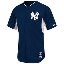 Jersey Oficial De Practica 2015 Majestic New York Yankees